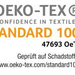 Öko-Tex Zertifiziert